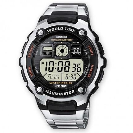 Casio Armbanduhr Collection Weltzeit AE-2000WD-1AVEF