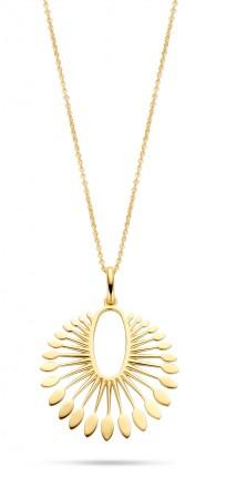 SPIRIT ICONS Collier Phoenix Silber Vergoldet 10682-45