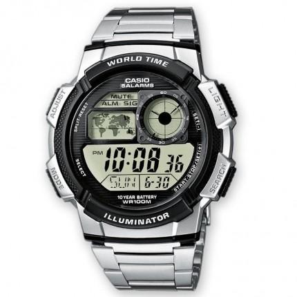 Casio Armbanduhr Collection Weltzeit AE-1000WD-1AVEF