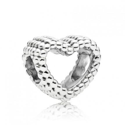 PANDORA Silberelement Beaded Heart 797516