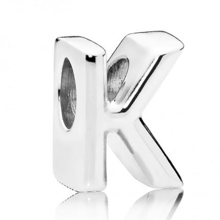 PANDORA Silberelement Letter K 797465