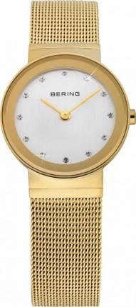 Bering Damenuhr Classic Gold 10126-334
