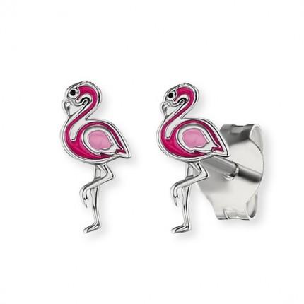 Herzengel Ohrstecker Silber Flamingo HEE-FLAMINGO