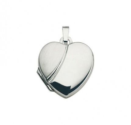 CEM Anhänger Medaillon Silber Herz BME 901126