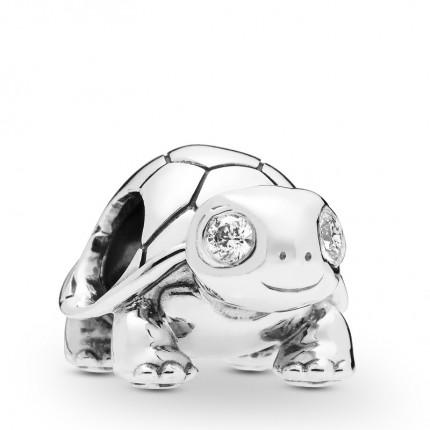 PANDORA Silberelement Bright-Eyed Turtle 797878CZ