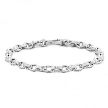 SPIRIT ICONS Armband Taste Silber Zirkonia 20201