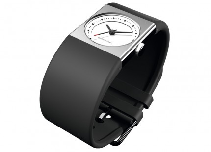 ROSENDAHL Armbanduhr Watch IV Small Edelstahl Polyurethan Schwarz 43261
