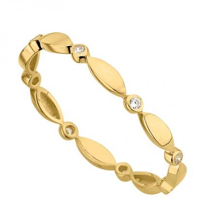 CEM Ring 333/- Gold Zirkonia G3-00352R