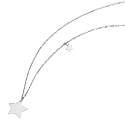 CEM Collier Silber Sterne S-00532C