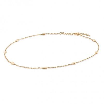 Boccia Collier Titan Gold Tränen 08026-02