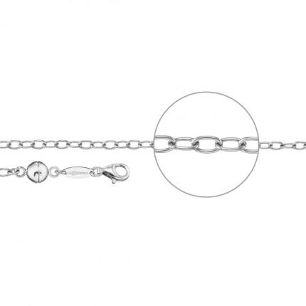 DER KETTENMACHER Verlängerungskette Silber Rhodiniert Magnet MAG-7S