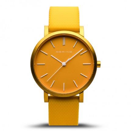 Bering Armbanduhr Unisex Aurora Silikonband Gelb 16934-699