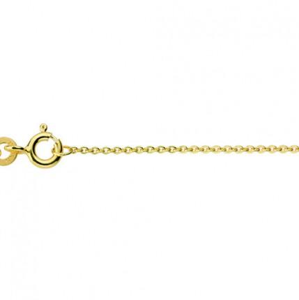 CEM Collierkette 585/- Gold Flachanker BFA530