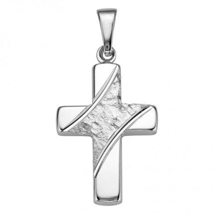CEM Anhänger Kreuz Silber BAH905056