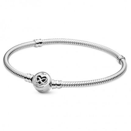 PANDORA Silberarmband Heart Infinity Clasp 599365C00