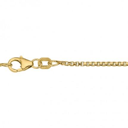CEM Collierkette 925/- Silber Vergoldet Venezia BVEV915