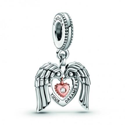 PANDORA Silberelement Angel Wings & Heart 789296C01