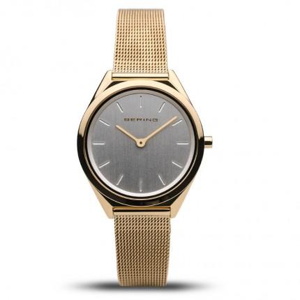Bering Damenuhr Ultra Slim Gold 17031-334