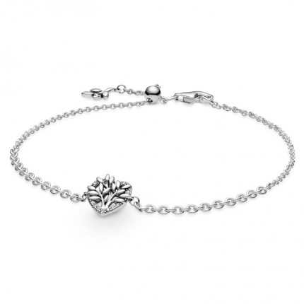 PANDORA Armband Silber Heart Family Tree 599292C01