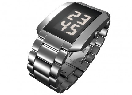 ROSENDAHL Armbanduhr Digital Watch III Large Edelstahl Metallband 43232