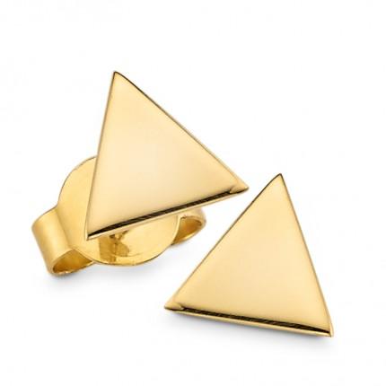 CEM Ohrstecker 333/- Gold Dreieck G3-00379O