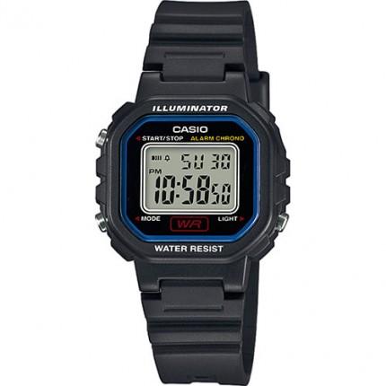 Casio Armbanduhr Collection Schwarz LA-20WH-1CEF