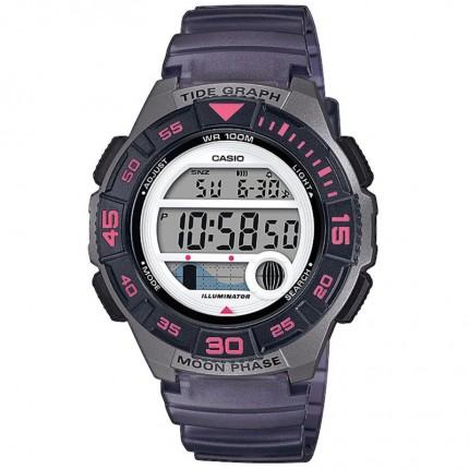 Casio Armbanduhr Collection Grau Pink LWS-1100H-8AVEF