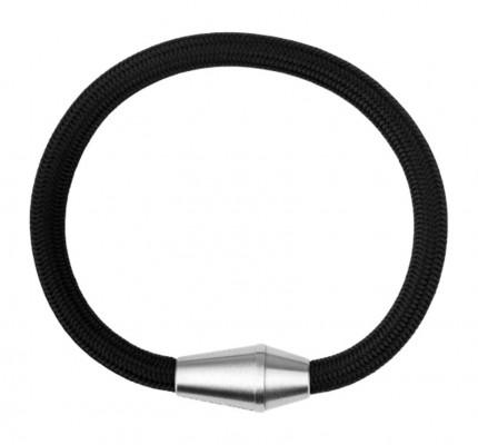Paul Hewitt CONIC Armband Edelstahl Nylon Schwarz PH002751