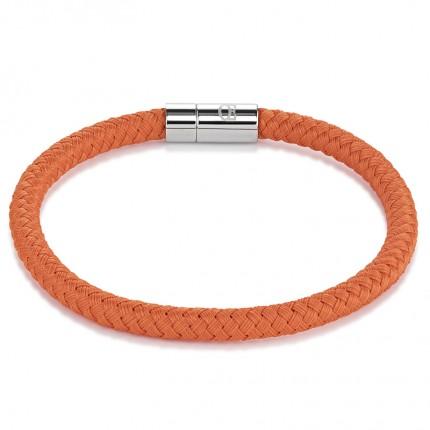 COEUR DE LION Armband Textil Geflochten Orange 0115/31-0200