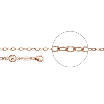 DER KETTENMACHER Verlängerungskette Silber Rotvergoldet Magnet MAG-7R