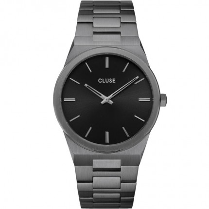 CLUSE Armbanduhr Vigoureux Edelstahl Schwarz CW0101503005