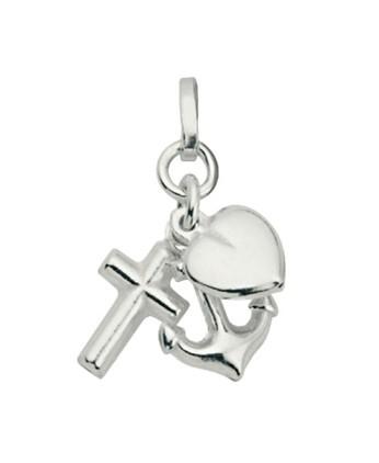 CEM Anhänger Glaube, Liebe, Hoffnung, Silber BAH 900953