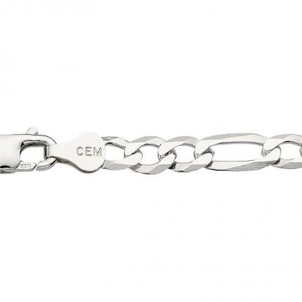 CEM Herrenkette Silber Figaro BFIR94551/50
