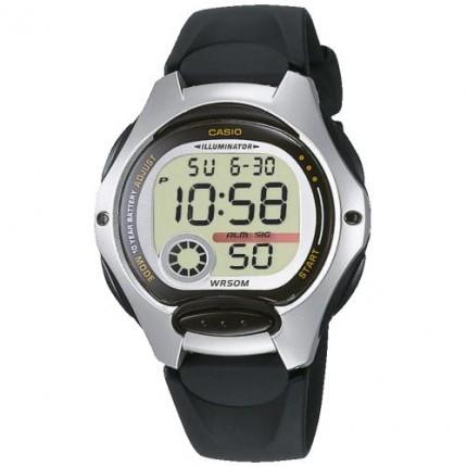 Casio Armbanduhr Collection Schwarz LW-200-1AVEG