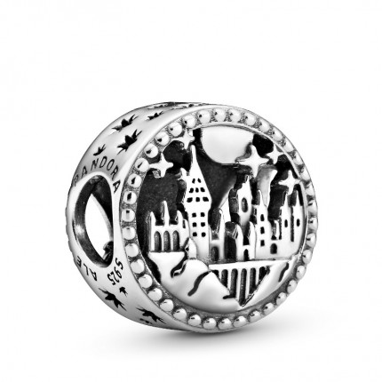 PANDORA Harry Potter Silber Charm Hogwarts School of Witchcraft and Wizardy 798622C00