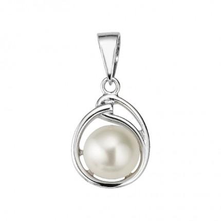 CEM Anhänger Perle Silber BAH905138