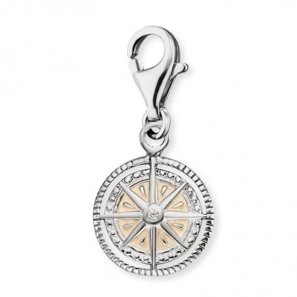 Engelsrufer Charms Silber Windrose ERC-WINDROSE-PE-ZI