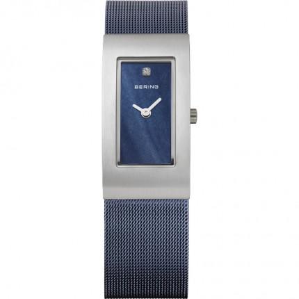 Bering Damenuhr Classic Blau 10817-307