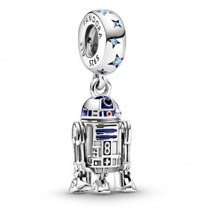 PANDORA Star Wars Silber Charm R2-D2 799248C01