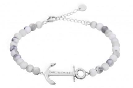 Paul Hewitt ANCHOR SPIRIT Armband Edelstahl Marble PH-ABB-S-M