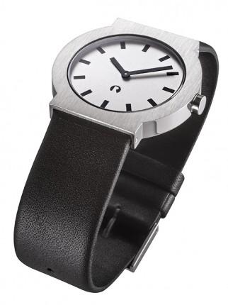 ROSENDAHL Armbanduhr I Small Edelstahl Lederband Schwarz 43275A