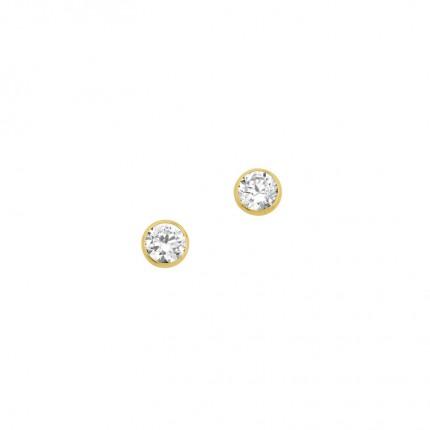 CEM Ohrschmuck 333/- Gold Zirkonia BOS302004
