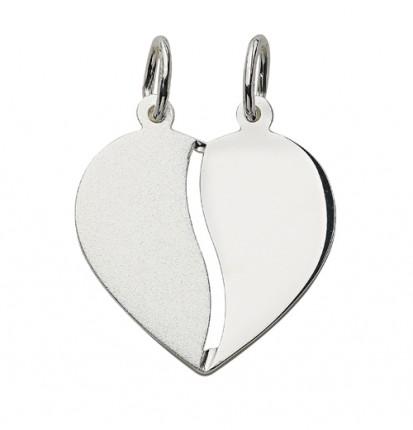 CEM Anhänger Herz Silber 2 tlg. BAH 904736