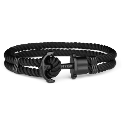 Paul Hewitt PHREPS Armband Nylon Schwarz / Schwarz PH-PH-N-B-B