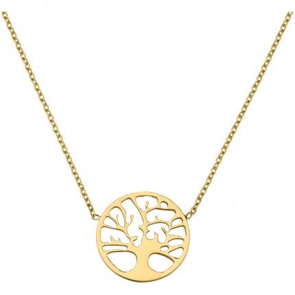 CEM Collier 333/- Gold Lebensbaum BCO305505