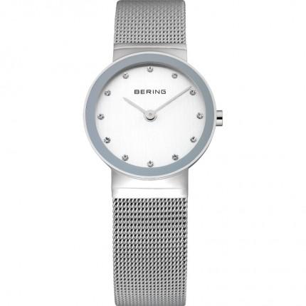 Bering Damenuhr Classic Silber 10126-000