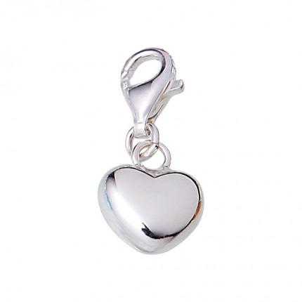 CEM Charms Anhänger Herz Silber CMM034