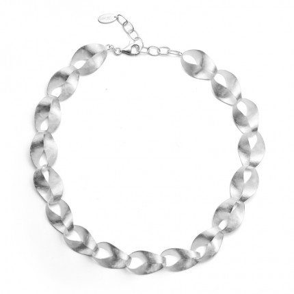 Bastian Inverun Collier 925/- Silber Rhodiniert 26061