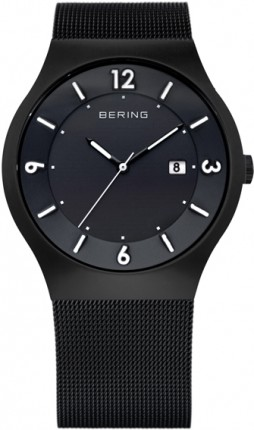 Bering Herrenuhr Solar Schwarz 14440-222