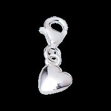 CEM Charms Anhänger Herz Silber CMM026